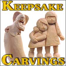 kespsake carvings